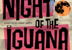 Night of the Iguana Poster